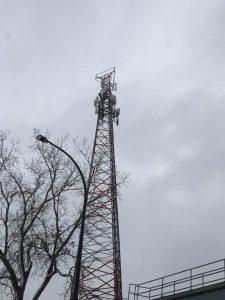 Installation d'antennes et se radios cellulaires